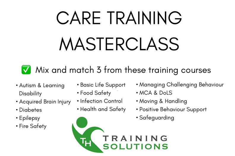 Care training masterclass list of 14 courses